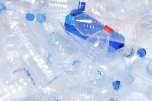 Plastic water bottle recycling